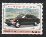 Sellos de Asia - Corea del norte -  3230 - Automóvil del líder Kim II Sung