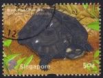 Sellos del Mundo : Asia : Singapur : tortuga