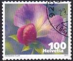 Sellos de Europa - Suiza -  pisum sativum