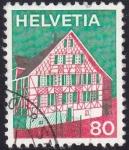 Sellos de Europa - Suiza -  casa Ermatingen