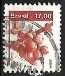 Sellos de America - Brasil -  Fruta - Guarana