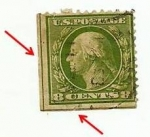 Sellos del Mundo : America : Estados_Unidos : 1909 Washington 8 c