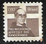 Sellos de America - Brasil -  Campaña contra la lepra - Frei Nicodemos