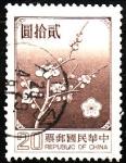 Sellos de Asia - China -  flores
