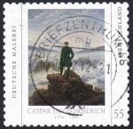 Sellos de Europa - Alemania -  Caspar David Friedrich