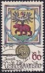 Sellos de Europa - Checoslovaquia -  escudo Jesenik