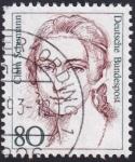 Sellos del Mundo : Europa : Alemania : Clara Schumann