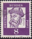 Sellos del Mundo : Europa : Alemania : Gutenberg