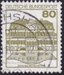 Sellos del Mundo : Europa : Alemania : castillo Wilhelmsthal