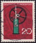 Sellos del Mundo : Europa : Alemania : 100 años motor de combustión