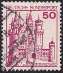 Sellos de Europa - Alemania -  Neuschwanstein