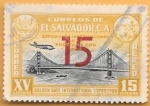 Sellos de America - El Salvador -  golden gate