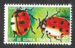Sellos de Africa - Guinea Ecuatorial -  Yt115E - Mariquitas