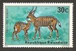 Sellos de Africa - Rwanda -  615