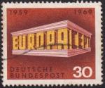Sellos de Europa - Alemania -  CEPT perspectiva