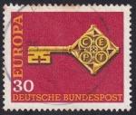 Sellos de Europa - Alemania -  CEPT llave 2