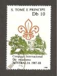 Sellos de Africa - Santo Tomé y Principe -  846B