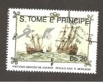 Sellos de Africa - Santo Tomé y Principe -  892