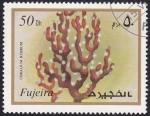 Sellos de Asia - Emiratos Árabes Unidos -  coral rojo