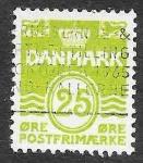 Sellos de Europa - Dinamarca -  416 - Cifra