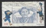 Sellos del Mundo : Europa : Alemania : 100 años nacimiento de Astrid Lindgre - Astrid Lindgren