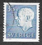 Sellos de Europa - Suecia -  577 - Gustavo VI Adolfo de Suecia