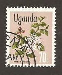 Sellos de Africa - Uganda -  123