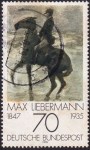 Sellos de Europa - Alemania -  Max Liebermann