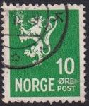 Sellos de Europa - Noruega -  León