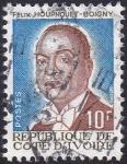 Sellos de Africa - Costa de Marfil -  Felix Houphouet-Boigny
