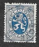 Sellos de Europa - Bélgica -  207 - León Rampante
