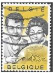 Sellos de Europa - Bélgica -  555 - Promoción de la Colecta de Sellos Entre Niños