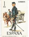 Sellos del Mundo : Europa : España : Uniformes Militares España