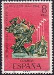 Sellos de Europa - España -  Centenario de la Unión Postal