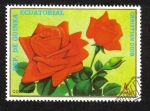 Sellos de Africa - Guinea Ecuatorial -  Flowers (IX) Roses