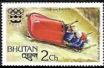 Sellos del Mundo : Asia : Bhután : gos Olimpicos de Invierno 1976 - Innsbruck