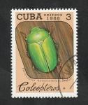 Sellos de America - Cuba -  2858 - Coleóptero
