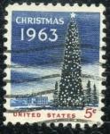 Sellos de America - Estados Unidos -  Navidad '63