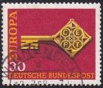 Sellos del Mundo : Europa : Alemania : Europa 1968