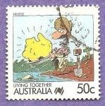 Sellos de Oceania - Australia -  1066