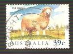 Sellos de Oceania - Australia -  1137