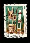 Sellos de Oceania - Australia -  SC50
