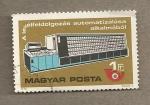 Sellos de Europa - Hungría -  Maquina distribuidora automática cartas