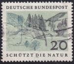 Sellos del Mundo : Europa : Alemania : protege la naturaleza