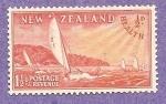 Sellos de Oceania - Nueva Zelanda -  B38