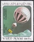 Sellos de Asia - Vietnam -  globo