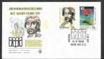 Sellos de America - Argentina -  983-984 - SPD Año Internacional del Libro (Martín Fierro)
