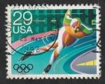 Sellos de America - Estados Unidos -  2002 - Olimpiadas de invierno 1992 en Albertville