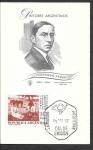 Sellos de America - Argentina -  831 - SPD Fernando Fader