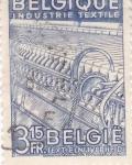 Sellos de Europa - Bélgica -  INDUSTRIA TEXTIL